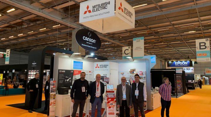 Mitsubishi Electric Photo Printing Solutions exhibited, one more year, in Salon de la Photo,  Paris.