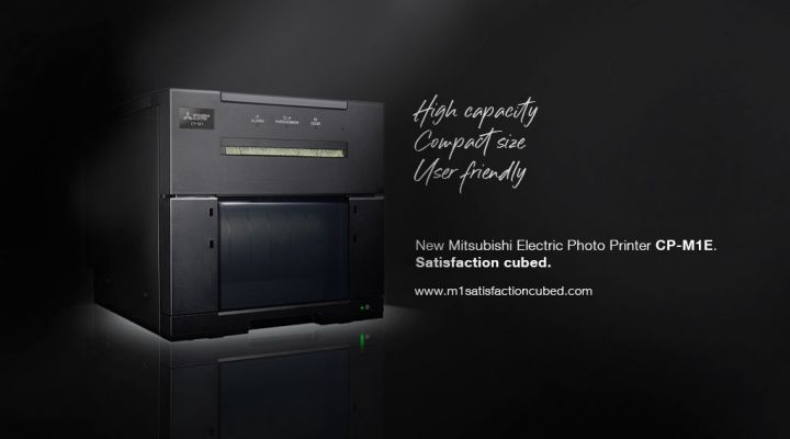 New photo printer CP-M1E. Satisfaction Cubed.