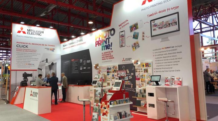 MITSUBISHI ELECTRIC EXHIBITED ITS NEWEST PRODUCTS IN CPRINT FAIR.